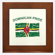 Dominican Pride Framed Tile