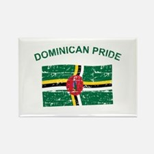 Dominican Pride Rectangle Magnet