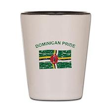 Dominican Pride Shot Glass