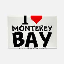 I Love Monterey Bay, California Magnets