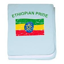 Ethiopian Pride baby blanket