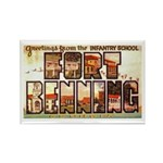 Fort Benning Georgia Rectangle Magnet (10 pack)
