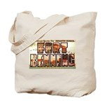 Fort Benning Georgia Tote Bag