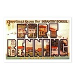 Fort Benning Georgia Postcards (Package of 8)