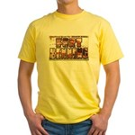 Fort Benning Georgia Yellow T-Shirt