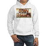 Fort Benning Georgia (Front) Hooded Sweatshirt