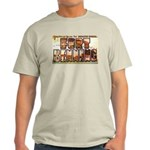 Fort Benning Georgia (Front) Ash Grey T-Shirt