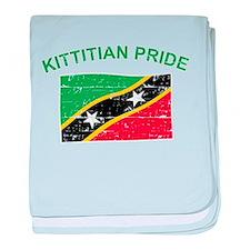 St. Kitts Pride baby blanket