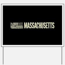 Black Flag: Massachusetts Yard Sign