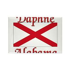 Daphne Alabama Rectangle Magnet