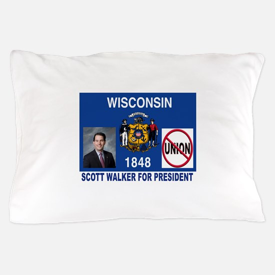 WALKER FOR PRESIDENT Pillow Case