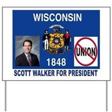 WALKER FOR PRESIDENT Yard Sign