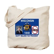 WALKER FOR PRESIDENT Tote Bag
