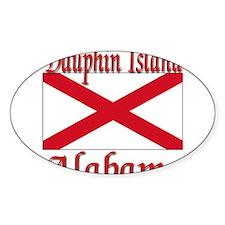 Dauphin Island Alabama Decal