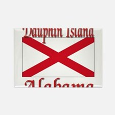 Dauphin Island Alabama Rectangle Magnet