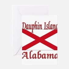 Dauphin Island Alabama Greeting Card
