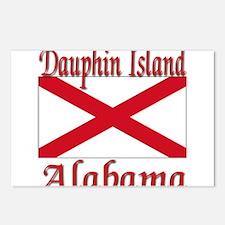 Dauphin Island Alabama Postcards (Package of 8)
