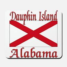 Dauphin Island Alabama Mousepad