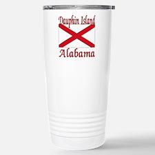 Dauphin Island Alabama Stainless Steel Travel Mug