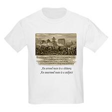 An armed man is a citizen Kids T-Shirt