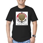 Tales of Tyria Logo Men's Fitted T-Shirt (dark)