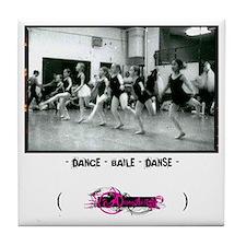 - dance - baile - danse - Tile Coaster