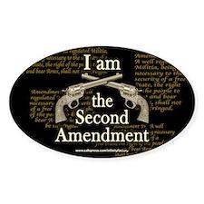 I am the Second Amendment Decal