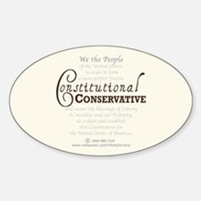 Constitutional Conservative Decal