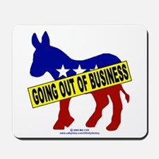 Going Out Business Democrats Mousepad