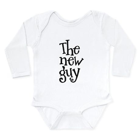 The New Guy Long Sleeve Infant Bodysuit