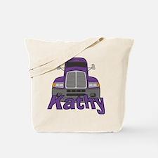 Trucker Kathy Tote Bag