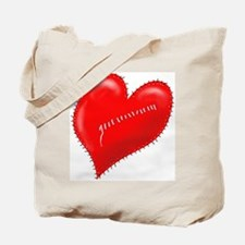 """Another Mended Heart"" Tote Bag"