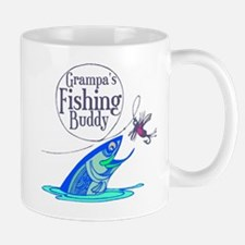 Grampas Fishing Buddy Mug