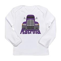 Trucker Katrina Long Sleeve Infant T-Shirt