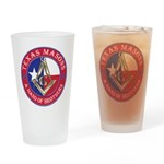 Texas Brothers Drinking Glass