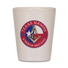 Texas Brothers Shot Glass