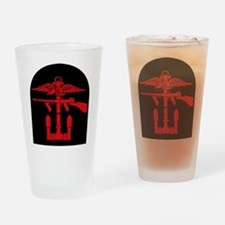 Combined Operations B-R Tombstone Drinking Glass