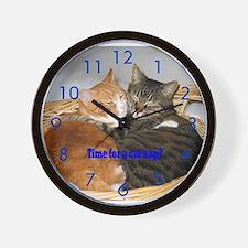 Cat Nap Clock