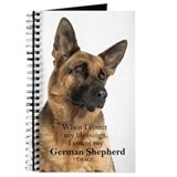 German shepherd Journals & Spiral Notebooks