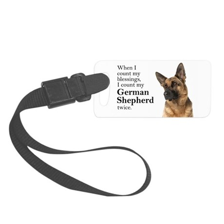 Shepherd Blessings Small Luggage Tag