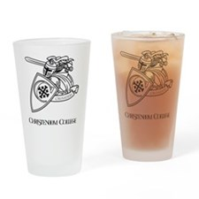 Louis The Crusader Drinking Glass