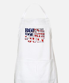 Funny 4th of july birthday Apron
