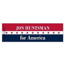 Jon Huntsman for America Bumper Sticker
