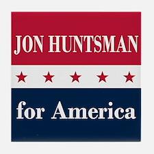 Jon Huntsman for America Tile Coaster