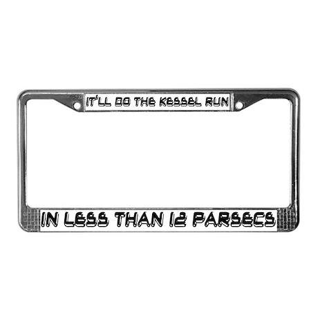 Kessel Run License Plate Frame