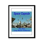 Space Capsule Framed Panel Print