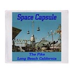 Space Capsule Throw Blanket