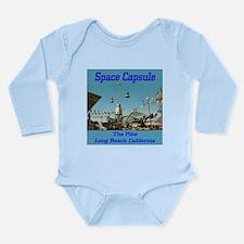 Space Capsule Long Sleeve Infant Bodysuit