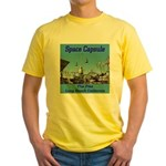 Space Capsule Yellow T-Shirt