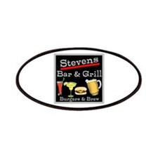 Personalized Bar and Grill Patches